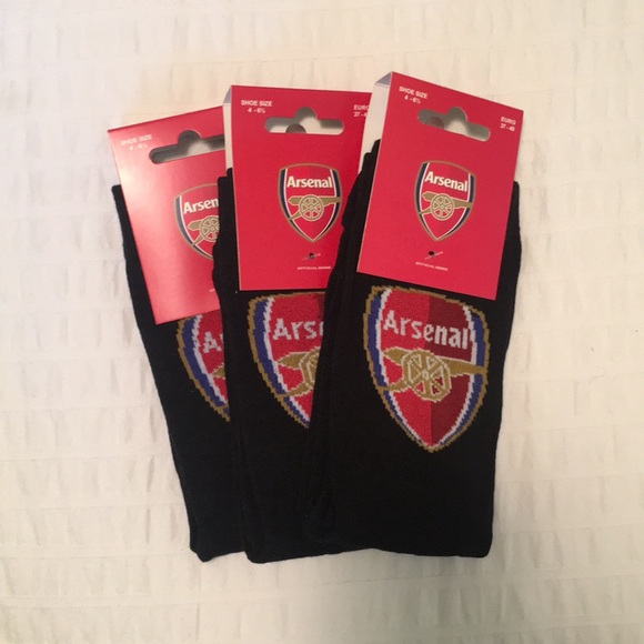 Arsenal F.C Junior Socks 4-6.5